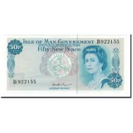 Isle Of Man, 50 New Pence, 1972, KM:28c, NEUF - Eiland Man/ Anglo-Normandische Eilanden