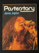 Musica Rock Janis Joplin Flower Power Texas Porth Arthur Posterstory 1980 - Non Classificati
