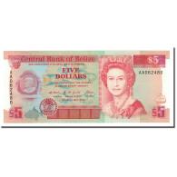 Belize, 5 Dollars, 1990, KM:53a, 1990-05-01, NEUF - Belize