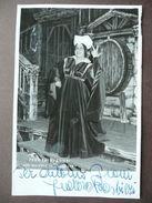 Fotografia Autografo Lirica Dedica Fedora Barbieri Falstaff  Troncone Opera - Autographes