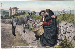 Kissing The Rale Blarney Stone - (Ireland) - Cork