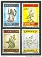 1986 Etiopia Erbe Aromatiche Erbs Piante Plants Plantes Set MNH** Te287 - Ethiopia