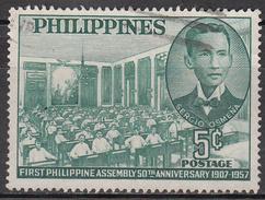 PHILLIPINES      SCOTT NO  640       USED     YEAR  1957 - Philippines