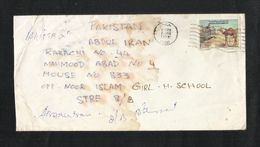 United Arab Emirates Air Mail Postal Used Cover UAE To Pakistan  Camel Animal - Abu Dhabi