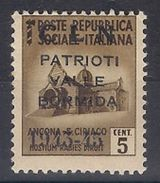 1945 Revolutionary Local Stamp  - CLN Valle Bormida MNH ** - Nationales Befreiungskomitee