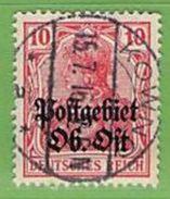 MiNr.5 O  Deutschland Deutsche Besetzg,1.WK Oberbefehlshaber Ost - Occupazione 1914 – 18