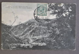 Cartolina Guerra Plava Quota 383 Trincee Partenza Offensiva 1917 - Militari