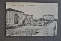Cartolina Veneto Vicenza Villa San Sebastiano Valmarana Nani Tiepolo 1910 - Vicenza