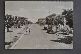 Cartolina Rimini Gatteo A Mare  Viale Della Repubblica 1960 - Rimini