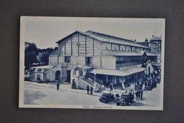 Cartolina  Istria Pola Pula Mercato Centrale Automobili Animata 1940 - Postkaarten