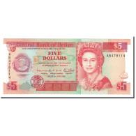 Belize, 5 Dollars, 1991, KM:53b, 1991-06-01, NEUF - Belize