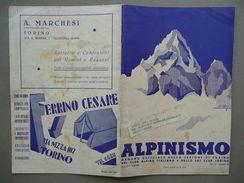 Alpinismo Rivista Sezione CAI Sci Club Torino 1935 Bobba Monte Bianco Montagna - Livres, BD, Revues
