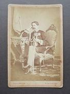 Fotografia Originale Umberto I Storia Fotografo Le Lieure Roma Torino 1875 - Autographes