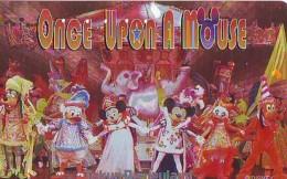 Télécarte  Dorée Japon DISNEY * 110-209944 *(4730)  ONCE UPON A MOUSE * Japan Phonecard * TK - Disney