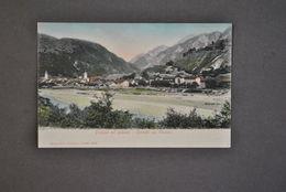 Cartolina Friuli Udine Pontafel Pontebba Tablja Stazioni Treni Ferrovia 1910 - Udine