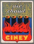 Glaçoïde CINEY (air Chaud)  (PPP5689) - Advertising (Porcelain) Signs