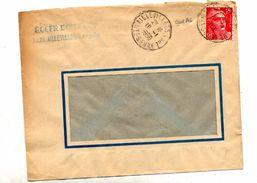 Lettre Cachet Aillevillers - Marcophilie (Lettres)