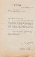 Paris Janv.1948 - L.S. Jacques ISORNI (1911-1995) Avocat, Défenseur De Robert BRASILLACH Et Du Maréchal PÉTAIN - - Documents Historiques