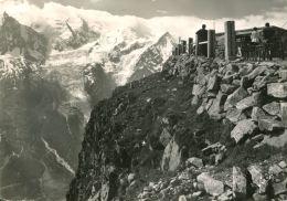 N°54443 -cpsm Chamonix Mont Blanc -vu Du Sommet Du Brévent- - Chamonix-Mont-Blanc