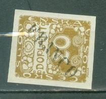 Tchécoslovaquie    Taxe  Yvert 4  *  TB  Surchargé  Franco - Postage Due