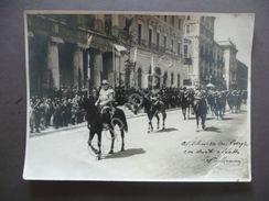 Fotografia Ficarelli Sfilata Militare Festa Dello Statuto Bari 1929 - Fotografia
