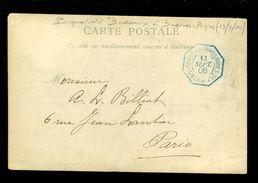 """Bootstempel  PAQUEBOT  """" Bordeau à Buenos Aires """" 13/9/1906 Op Kaart Sénégal  Type De Maure      ( 2808 ) - Senegal (1960-...)"""