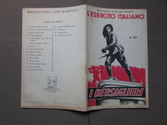 Esercito Italiano Bersaglieri Storia Guerra Bibliotechina Marzotto Valdagno - Zonder Classificatie
