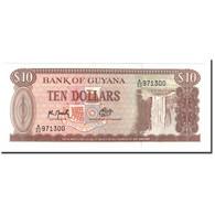 Guyana, 10 Dollars, Undated (1966-92), KM:23f, NEUF - Guyana