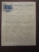 Lettera Manoscritta Emigranti Brasile Appiani Cesare Armoniche Musica 1911 - Unclassified