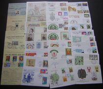Algérie: Lot De 23 FDC+ Cartes+ Documents Philatéliques Tous Différents, Années 1970 Et 1980 (Lot 1), Voir Photos - Argelia (1962-...)