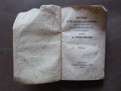 Ricordi Padre Figlia Matrimonio Morale Galateo Comportamento Bernardi Rossi 1844 - Zonder Classificatie