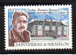 SPM Saint Pierre Et Miquelon  N° 476 Neuf  XX MNH  Luxe  Cote Y&T  1,40  €uro - St.Pierre & Miquelon