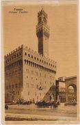 Italie,italia,toscane,toscana,FLORENCE,FIRENZE,1926,PALAZZO VECCHIO - Firenze (Florence)