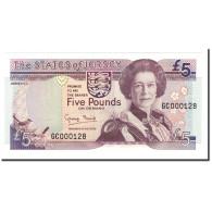 Jersey, 5 Pounds, 1993, KM:21a, NEUF - Jersey