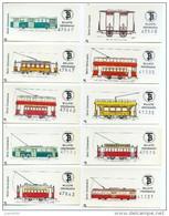 54 BILLETES DE TRANVIAS DE BARCELONA / SERIE COMPLETA: CENTENARIO  / 1972  (7) - Bus