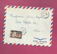 Lettre De Saint Pierre Et Miquelon Pour La France De 1968 - YT N° 383- Amiral Gauchet - St.Pierre Et Miquelon