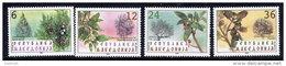 MACEDONIA  2001 Native Trees MNH / **.  Michel 234-37 - Macedonia