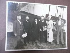 Fotografia Originale Aviazione Aereo Aviatore Primi '900 Fot. Industriale Messa - Fotografia