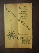 Scoutismo CNGEI Reggio E. Giglio D'oro Numero Doppio 1967 Scout Baden Powell - Non Classificati