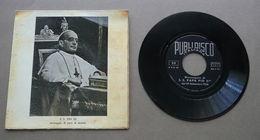 Discorso Pio IX Messaggio Di Pace Al Mondo 1938 Disco 33 Giri  Radio Vaticana - Dischi In Vinile