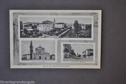 Cartoline Campogalliano Modena Panorama Chiesa Parrocchiale 1942 - Modena