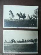 Foto Cartolina Primo 900 Cavalleria Vedetta Salto Ostacoli Militaria Equitazione - Foto's