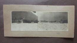 Fotografia Doppia Paggiaro Tricesimo Prima Guerra Mondiale Ponte Bombarato - Foto's