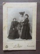 Fotografia Epoca Tozzi Taranto Puglia Tre Donne 1911 - Foto's