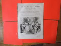 JOURNAL DES MERES N°96 15 DECEMBRE 1880 LE CHATEAU DE BRUGNY,POUR LES PAUVRES,LE CHAUFFAGE A BON MARCHE,MODES D'HIVER - Libri, Riviste, Fumetti