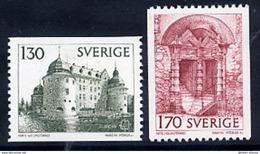 SWEDEN 1978 Europa: Historic Buildings MNH / **.  Michel 1014-15 - Sweden