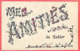 25 - DOUBS / 25442 - Luhier - Mes Amitiés - Fantaisie - Paillettes - Otros Municipios