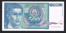 )  JOEGOSLAVIE  500 DINARA  1990 - Yougoslavie