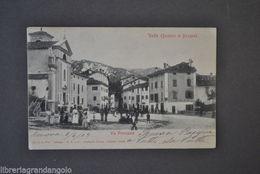 Cartoline Emilia Bologna Vado V. Principale Montagna Animata Osteria Chiesa 1900 - Bologna