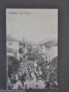 Cartoline Palmanova Borgo Aquileia Animata Processione Carabinieri Cavallo 1910 - Udine